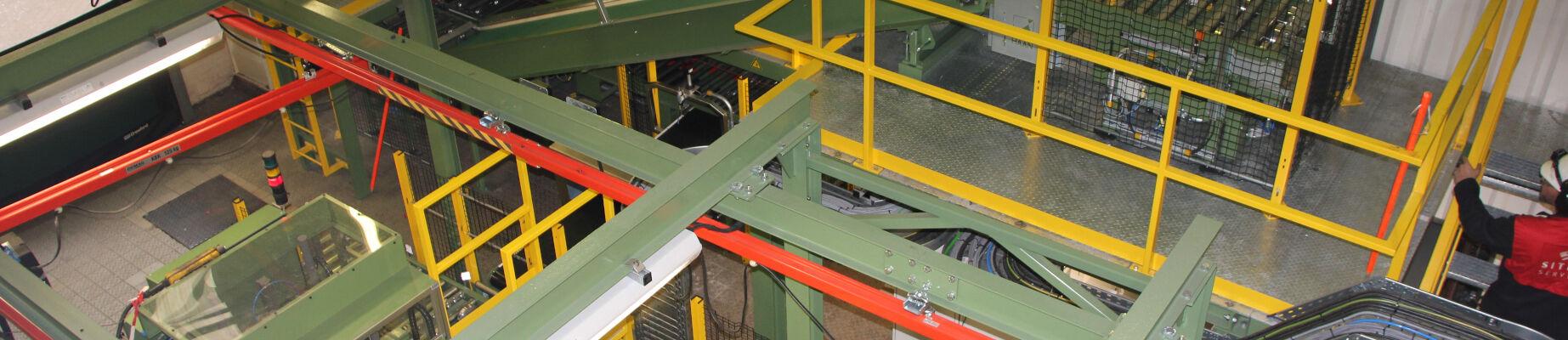 Material handling systemen
